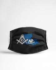Louisiana Freemasons Cloth face mask aos-face-mask-lifestyle-22