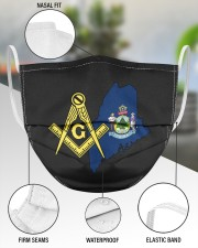 Maine Freemasons 3 Layer Face Mask - Single aos-face-mask-3-layers-lifestyle-front-49