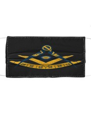 Past Master Cloth face mask front