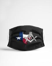 Texas Freemasons Cloth face mask aos-face-mask-lifestyle-22