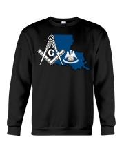 Louisiana Freemasons Crewneck Sweatshirt tile