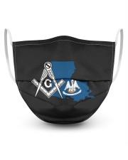Louisiana Freemasons Masks tile