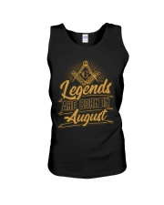 Legends Are Born In August Unisex Tank tile