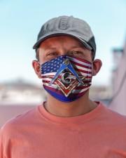 USA Freemasons Cloth face mask aos-face-mask-lifestyle-06