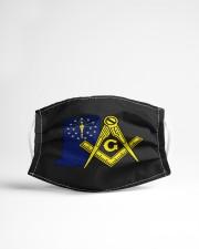 Indiana Freemasons Cloth face mask aos-face-mask-lifestyle-22