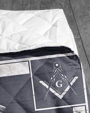 "Masonic Symbol Quilt 40""x50"" - Baby aos-quilt-40x50-lifestyle-closeup-front-07"