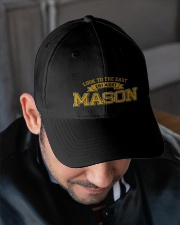 Look To The East Embroidered Hat garment-embroidery-hat-lifestyle-02