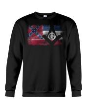 Mississippi Freemasons Crewneck Sweatshirt tile