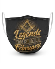 Legends Are Born In February Masks tile