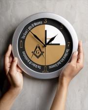 1-4 Part of A Circle Wall Clock aos-wall-clock-lifestyle-front-04