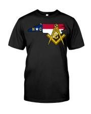 North Carolina Freemasons Classic T-Shirt front