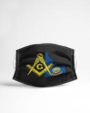 Idaho Freemasons Cloth face mask aos-face-mask-lifestyle-22