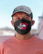 Arkansas Freemasons Cloth face mask aos-face-mask-lifestyle-06