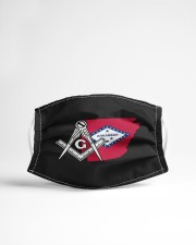 Arkansas Freemasons Cloth face mask aos-face-mask-lifestyle-22