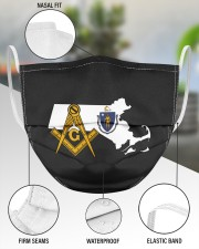 Massachusetts Freemasons 3 Layer Face Mask - Single aos-face-mask-3-layers-lifestyle-front-49