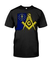Indiana Freemasons Classic T-Shirt front