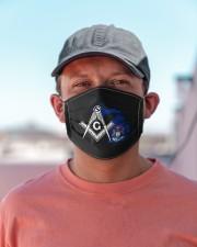 Michigan Freemasons Cloth face mask aos-face-mask-lifestyle-06