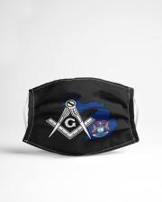 Michigan Freemasons Cloth face mask aos-face-mask-lifestyle-22
