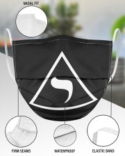 14th degree 3 Layer Face Mask - Single aos-face-mask-3-layers-lifestyle-front-49