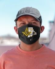 Rhode Island Freemasons Cloth face mask aos-face-mask-lifestyle-06