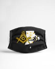 Rhode Island Freemasons Cloth face mask aos-face-mask-lifestyle-22