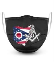 Ohio Freemasons Masks tile