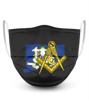 Connecticut Freemasons 3 Layer Face Mask - Single front
