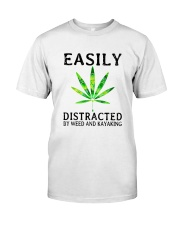 Easily Distracted By We Classic T-Shirt front