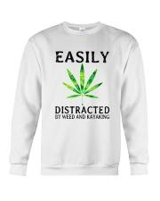 Easily Distracted By We Crewneck Sweatshirt thumbnail