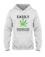 Easily Distracted By We Hooded Sweatshirt thumbnail