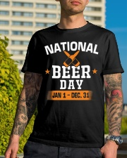 National beer day Jan 1-Dec 31 Classic T-Shirt lifestyle-mens-crewneck-front-8
