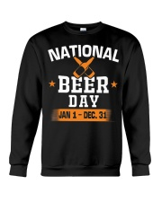 National beer day Jan 1-Dec 31 Crewneck Sweatshirt thumbnail