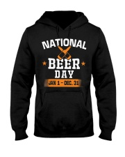 National beer day Jan 1-Dec 31 Hooded Sweatshirt thumbnail