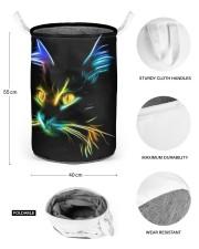 cat Laundry Basket - Medium aos-laundry-basket-medium-lifestyle-front-03