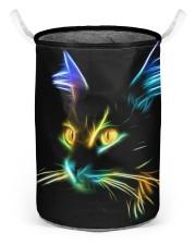 cat Laundry Basket - Medium back