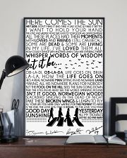 Lyrics The Beatles 16x24 Poster lifestyle-poster-2