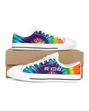 Be kind Women's Low Top White Shoes thumbnail