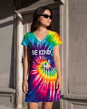 Be kind All-over Dress aos-dress-front-lifestyle-1