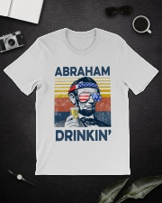 Happy 4th of july 14 Classic T-Shirt lifestyle-mens-crewneck-front-16