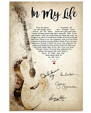 In My Life - The Beatles 03 16x24 Poster front
