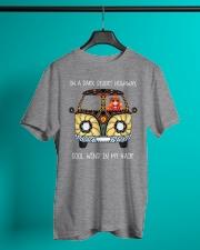 On a dark desert highway Classic T-Shirt lifestyle-mens-crewneck-front-3