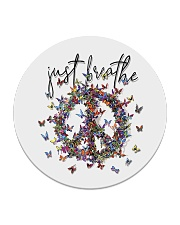 Just breathe Circle Coaster thumbnail