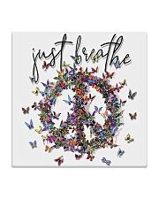 Just breathe Square Coaster thumbnail