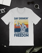 Happy 4th of july 46 Classic T-Shirt lifestyle-mens-crewneck-front-16