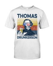Happy 4th of july 19 Classic T-Shirt front
