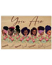 You are 24x16 Poster front