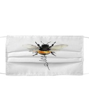 Let It Bee Cloth face mask front