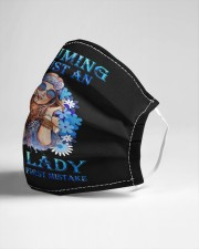 Assuming I Am Just An funny hippie design Cloth face mask aos-face-mask-lifestyle-21