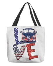 Love peace van All-over Tote thumbnail