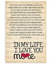 In My Life - The Beatles 04 16x24 Poster front